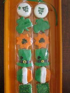 Our popular Minis, Irish for the occasion