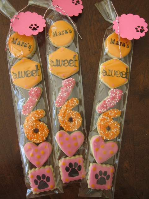 Sweet Sixteen for a dog lover....