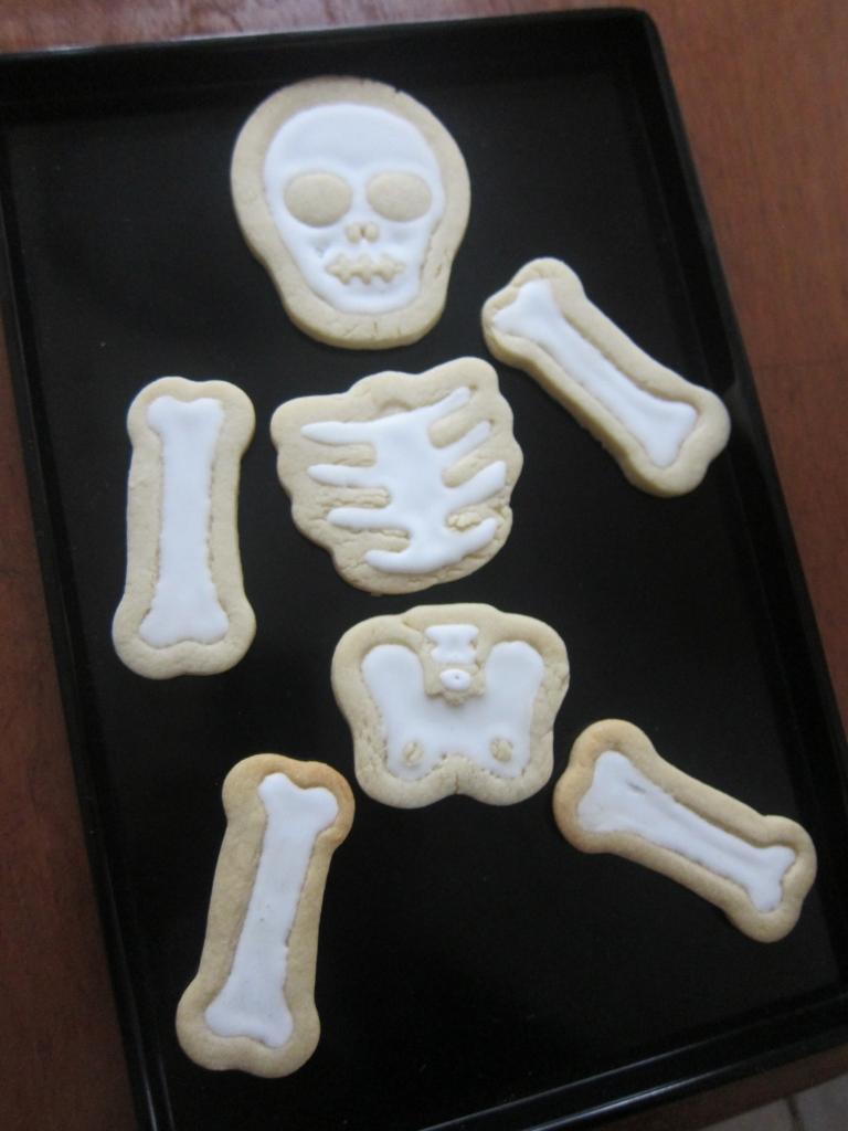 Skeleton Cookies...