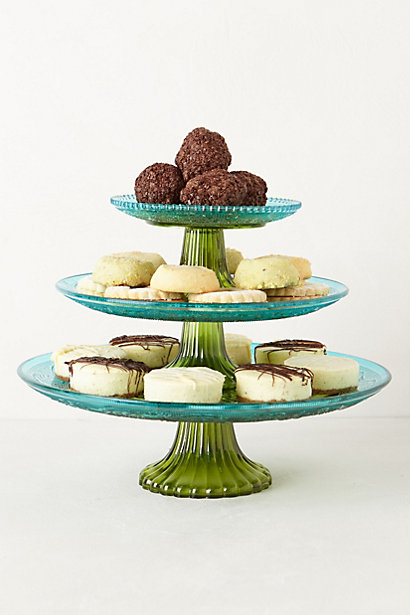 Anthropologie's trio of cake stands