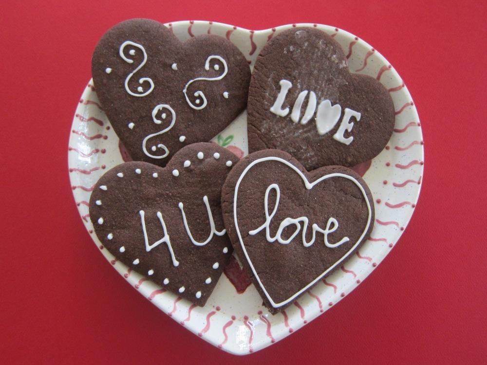 Chocolate Sugar Cookies have something to say!!