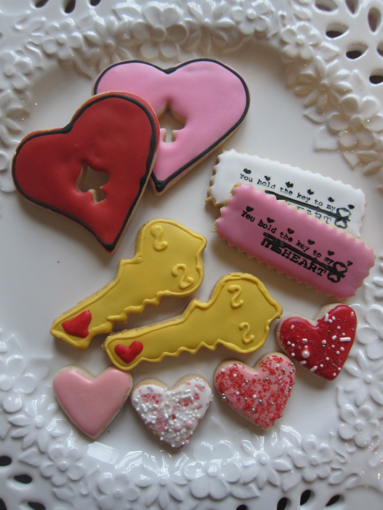Also inspired by Lizy, Keys to my heart!!