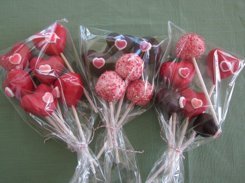 Bouquets of Cake Pops!