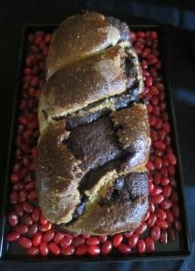 Chocolate Babka/ twisted log....