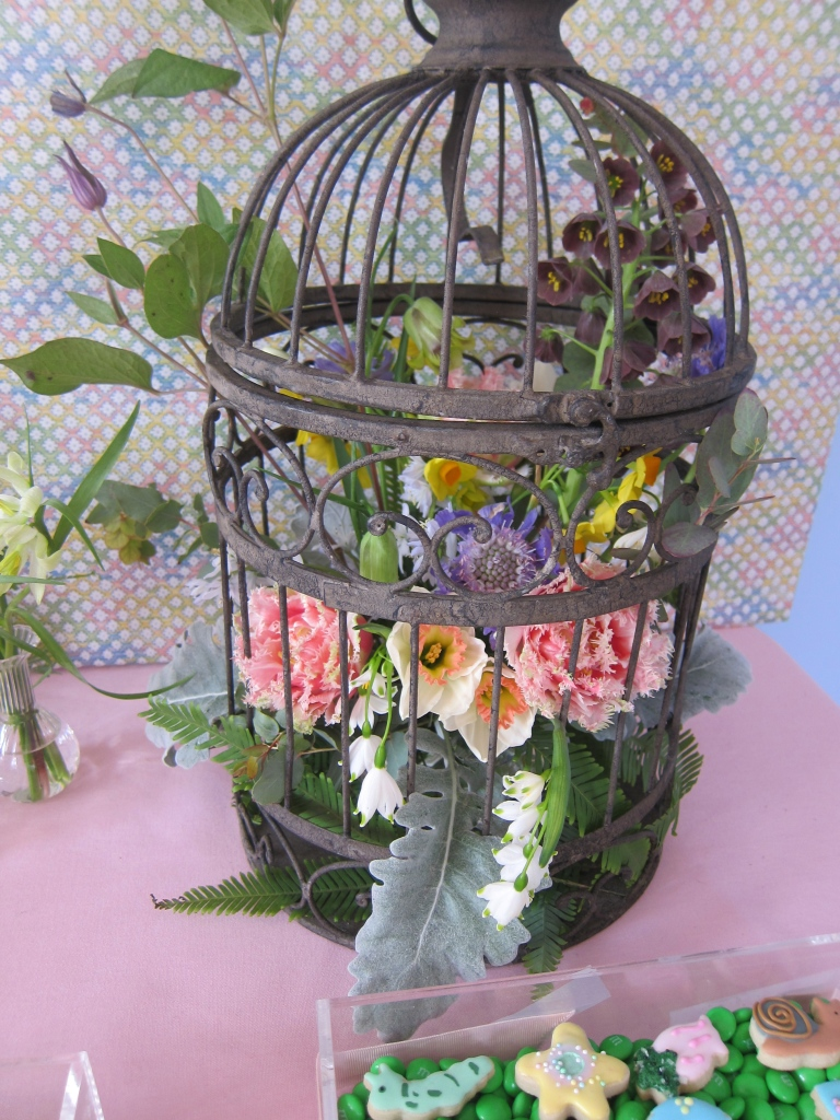 Ellen's arrangement! Looks amazing and smelled even better!