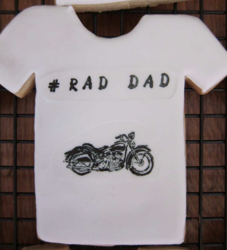 DAD is a biker!